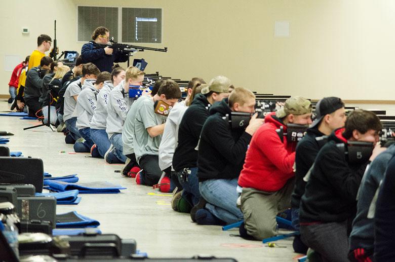 Junior Jadelynn Kendall Finds New Confidence Through Air Rifle Team