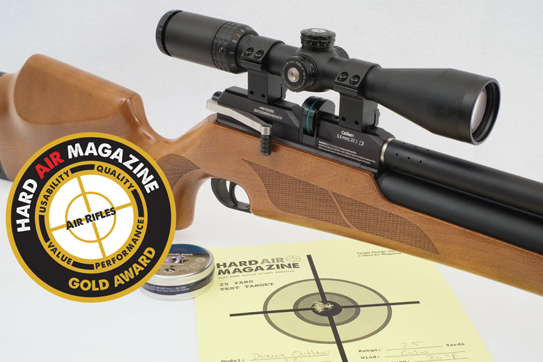Diana Outlaw PCP Air Rifle Test Review  22 Caliber