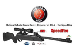 New Hatsan SpeedFire Air Rifle Launched At 2018 IWA Show