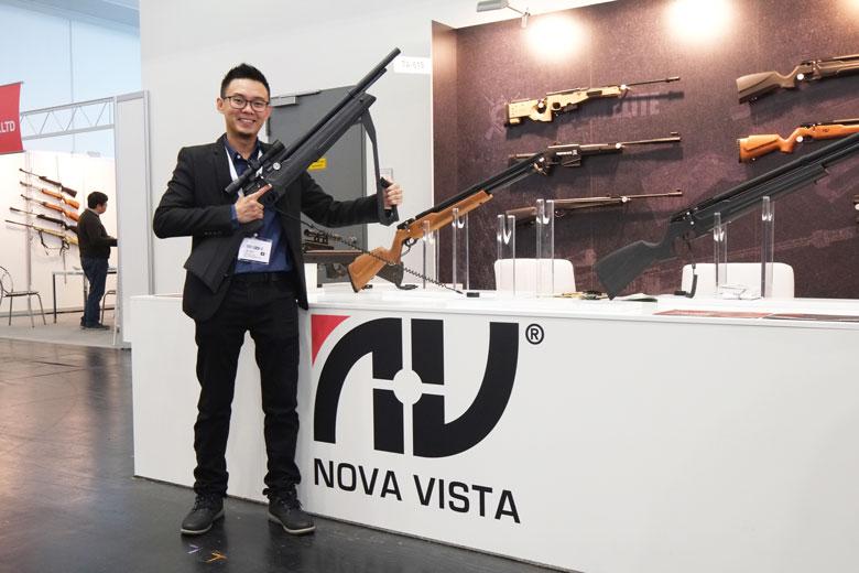 FX Dreamline Stars Among Many New Airguns At 2018 IWA Show
