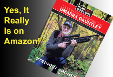 Yes It's True! Amazon Is Selling The Choosing and Shooting The Umarex Gauntlet Book
