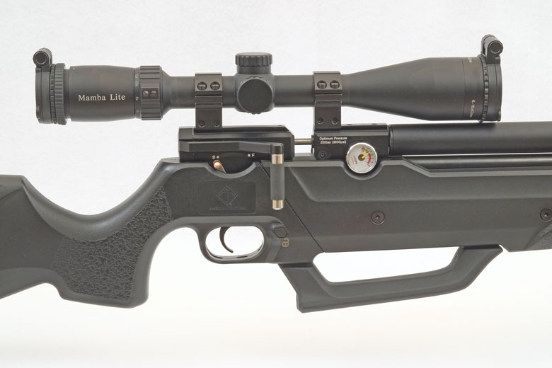 American Tactical Nova Freedom PCP Air Rifle Test Review  22