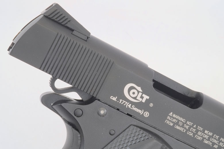 Colt Commander CO2 BB Pistol Review