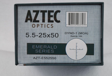 A Close Look At The Aztec Emerald 5.5-25x50 Scope