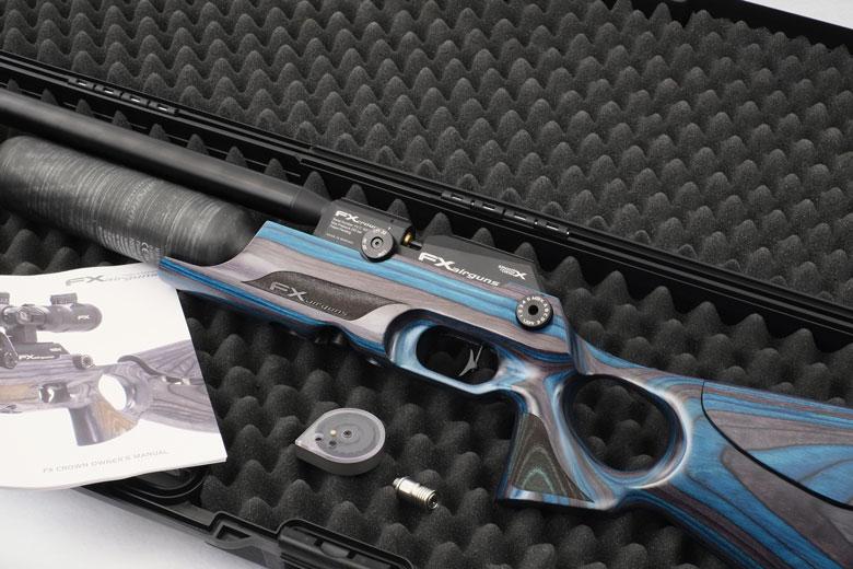 FX Crown Air Rifle Test Review  177 Caliber