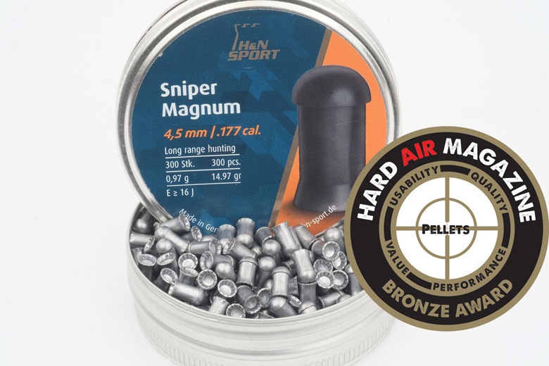 H&N Sniper Magnum 14.97 Grain .177 Caliber Pellet Test Review