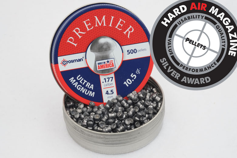 Crosman Premier Ultra Magnum Pellets 10.5 Grain .177 Caliber Test Review