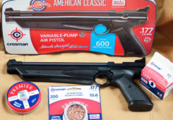 The Crosman American Classic Air Pistol, Part One