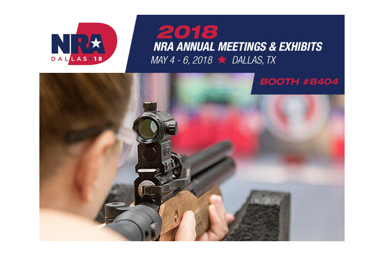 Visit Pyramyd Air's Airgun Range at the 2018 NRA Annual Meetings & Exhibits