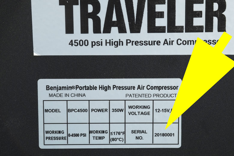 Exclusive First Look At New Benjamin Traveler Portable HPA Compressor