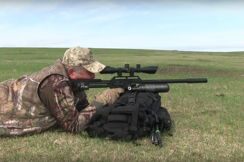 Jim Chapman Hunting Prairie Dogs With An FX Impact