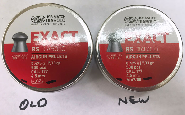 JSB Label Changes. Don't Worry, There's No Change To The Pellets!