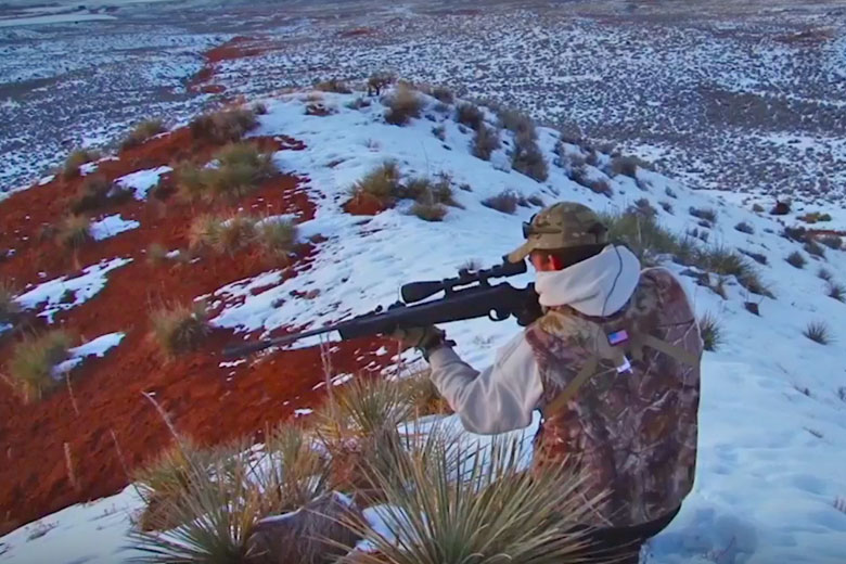 Rabbit Hunting In Wyoming Using The Umarex Octane Air Rifle
