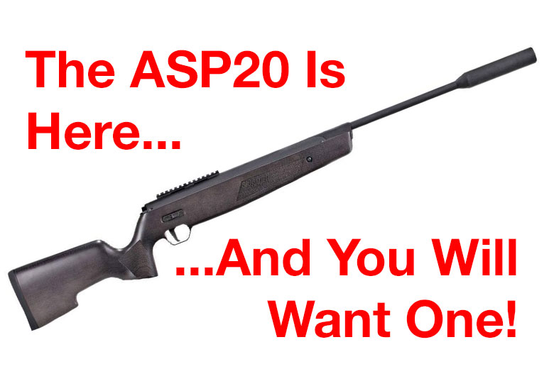 The New SIG ASP20 Air Rifle Is Launched - HAM Has All The News