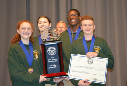 Nation Ford High School Are The Sporter 2018 CMP 3P Air Rifle Championship Winners