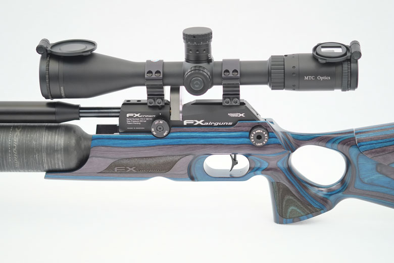 FX Crown Air Rifle Test Review .177 Caliber