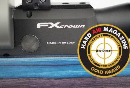 FX Crown Air Rifle Test Review .177 Caliber