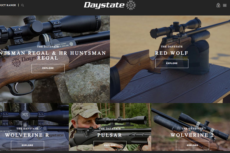 New Look Daystate Website Goes Live Today