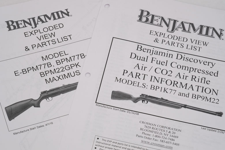 Aren't The Benjamin Maximus And Discovery The Same Airgun?