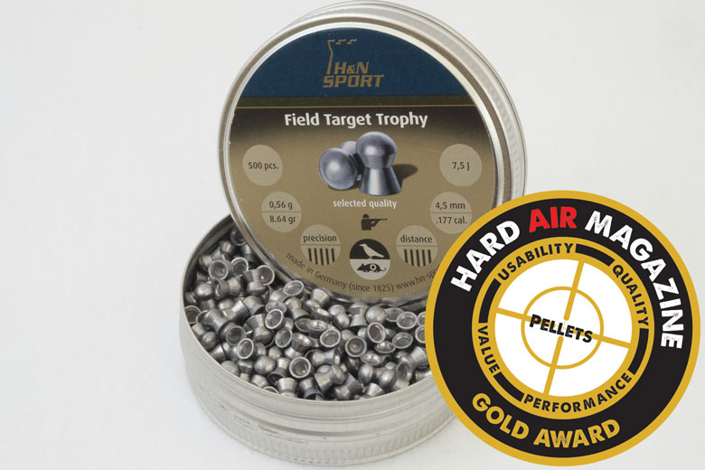 H&N Field Target Trophy 8.64 Grain .177 Caliber Pellet Test Review