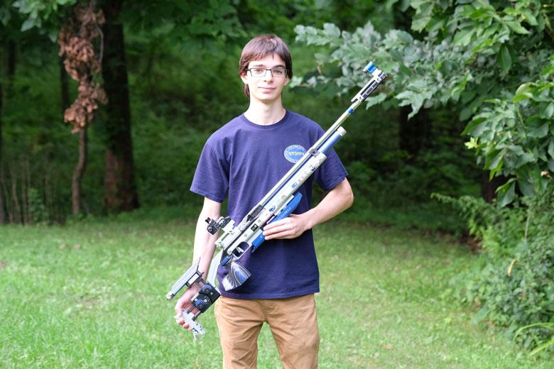 Meet Andre Gross - Champion Airgun Target Shooter