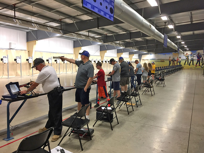 2018 National Matches Air Gun Events At Camp Perry
