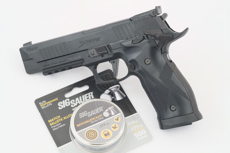 First Look At The SIG X-Five ASP CO2 Pellet Pistol