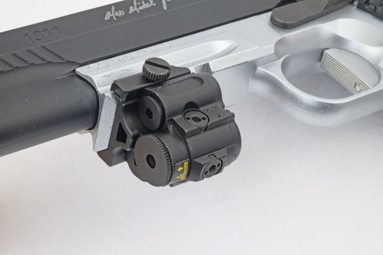 UTG Sub Compact Laser Sight Is Ideal For Many BB Pistols