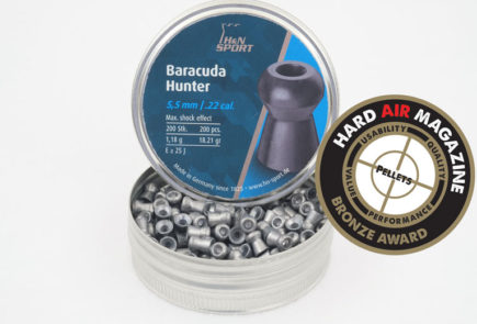 H&N Baracuda Hunter 18.21 Grain .22 Caliber Pellet Test Review
