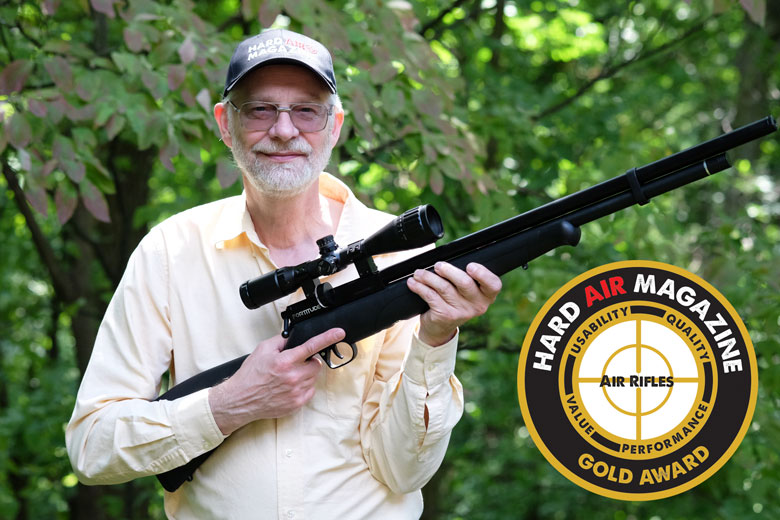 Benjamin Fortitude Air Rifle Test Review  22 Caliber - Hard