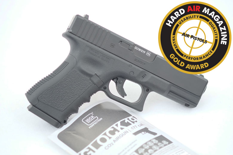Umarex Generation 3 Glock 19 CO2 BB Gun Test Review