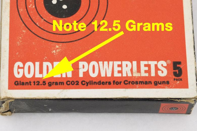 Crosman Golden Powerlets - Do You Remember Them?