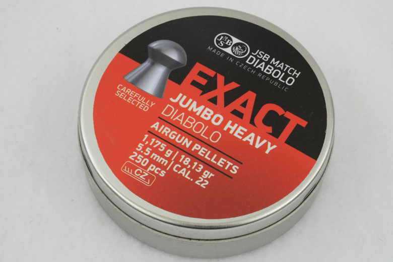 JSB Exact Jumbo Heavy 18.13 Grain .22 Caliber Pellet Test Review