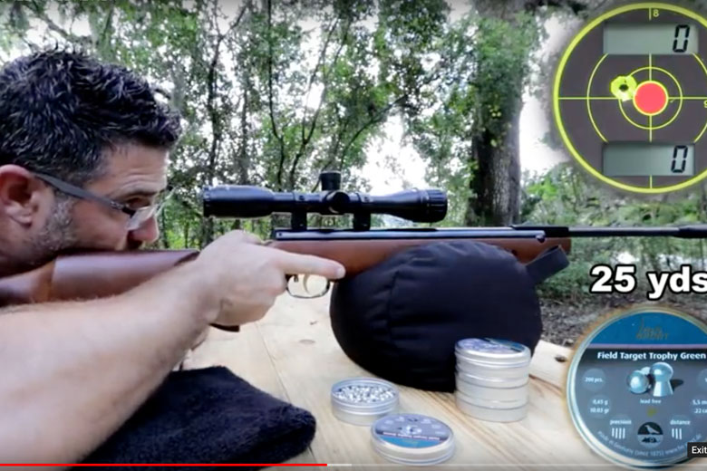 HW95 Luxus Air Rifle Video Review By AEAC