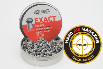 JSB Exact Diabolo 8.44 Grain .177 Caliber Airgun Pellet Review