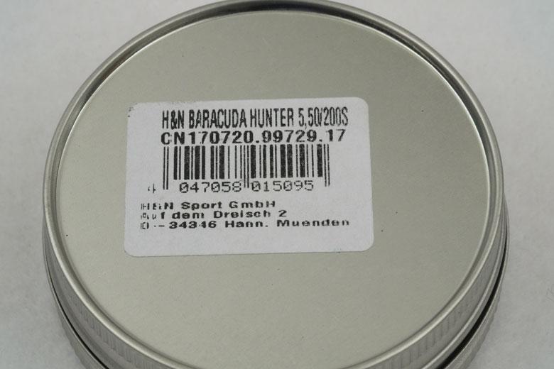 H&N Baracuda Hunter 18.21 Grain .22 Caliber Pellet Test Review