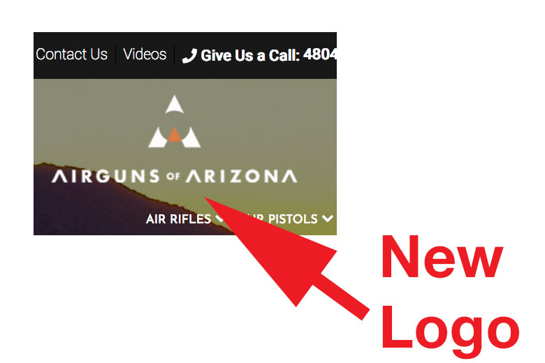 New Airguns of Arizona Website
