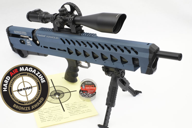 Kral Puncher Armour PCP Air Rifle Test Review  22 Caliber