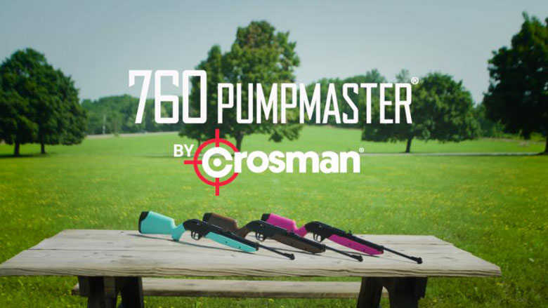 Crosman Announces The New, Improved 760 Pumpmaster Classic