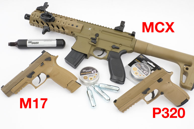 First Look At The New SIG M17 ASP CO2 Pistol