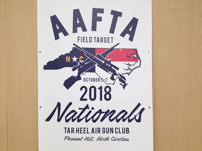 The 2018 AAFTA Nationals in North Carolina
