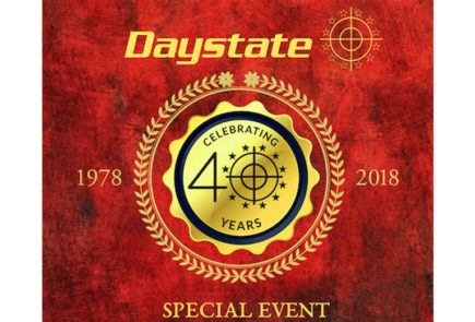 Daystate 40 Event Will Be On 3 December 2018