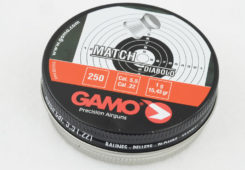 Gamo Match 15.43 Grain .22 Caliber Pellet Test Review