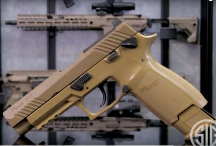 New M17 Pellet Pistol Video From SIG SAUER