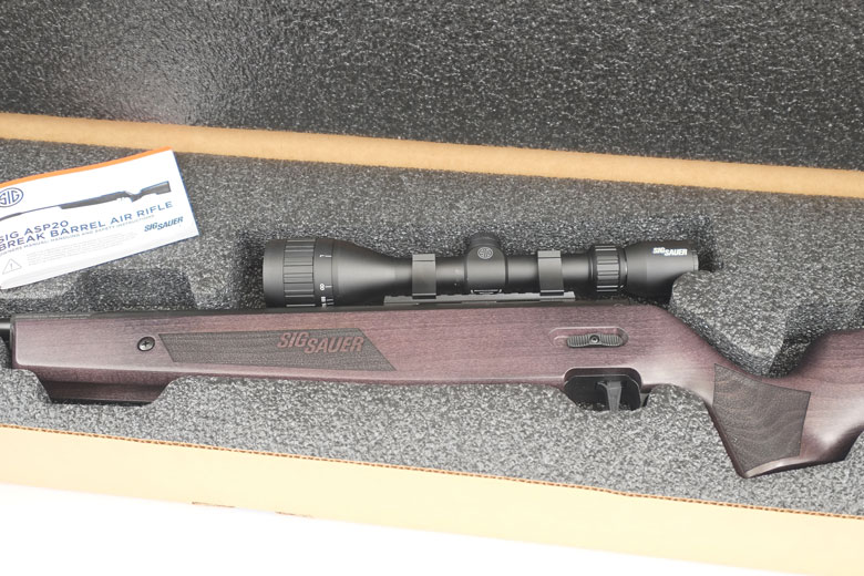 First Look At The SIGAIR ASP20 Air Rifle