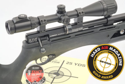 Umarex Gauntlet .25 Caliber PCP Air Rifle Test Review