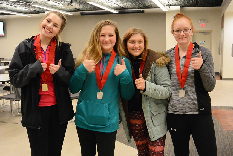 2018 Gary Anderson Invitational Air Rifle Event - The Ladies Win!