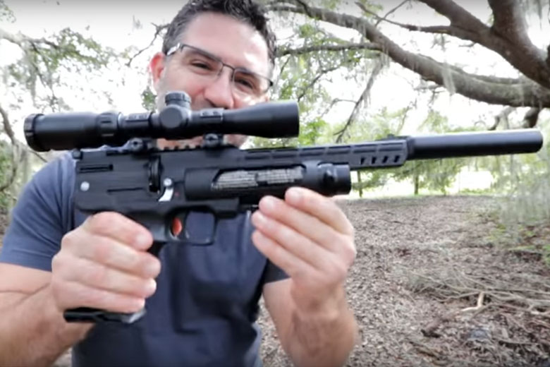 Weihrauch HW44 Air Pistol Video Review - Hard Air Magazine