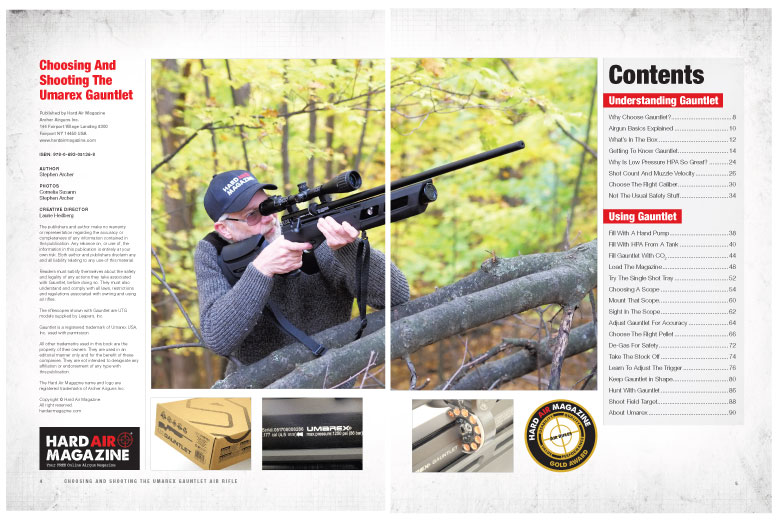 Choosing And Shooting The Umarex Gauntlet Hard Copy Airgun Book