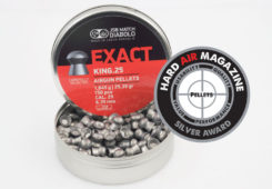 JSB Exact King 25.39 Grain .25 Caliber Pellet Test Review